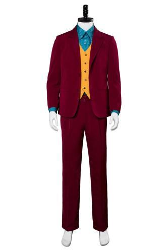 Joker 2019 Batman Joaquin Phoenix Arthur Fleck Cosplay Kostüm Erwachene und Kinder