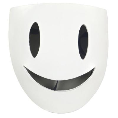 Tenkuu Shinpan Maske High-Rise Invasionsmasker Cosplay Resin Maske Halloween Party Requisite