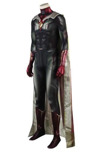 Avengers 3 Infinity War Vision Superhero Superheld Jumpsuit Vision Cosplay Kostüm