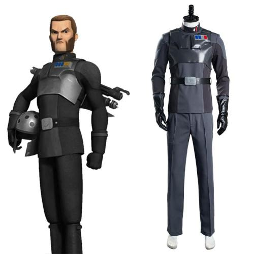 Star Wars Rebels Agent Alexsandr Kallus Uniform Cosplay Kostüm Halloween Karneval Kostüm