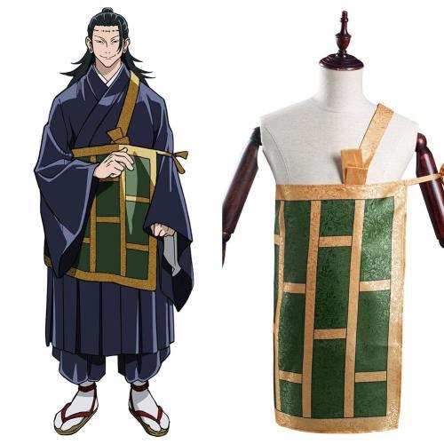 Anime Jujutsu Kaisen Suguru Geto Roben Cosplay Kostüm