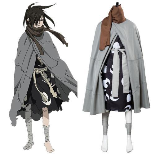 Manga Dororo to Hyakkimaru Cosplay Kostüm