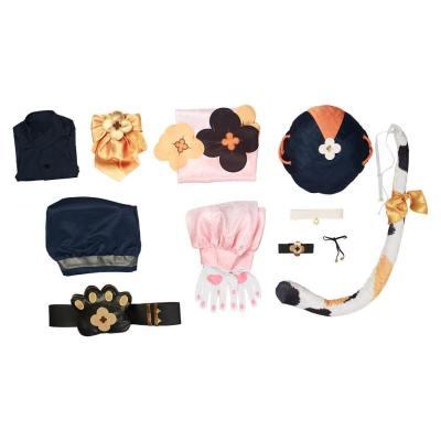 Genshin Impact Diona Cosplay Kostüm Halloween Karneval Outfits