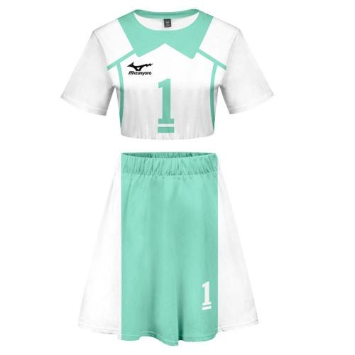 Haikyuu!! Volleyball!! Aobajohsai High Nummer 1 TOUru Oikawa Kleid webliche Cosplay Kostüm