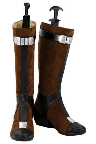 Avengers Infinity War Captain America Cosplay Schuhe Stiefel Version B