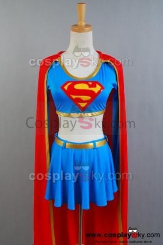 DC Comics Supergirl Cosplay Kostüm Getrennt version