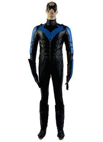 Batman: Arkham City Nightwing Richard John Dick Grayson Cosplay Kostüm