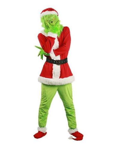 The Grinch Der Grinch Weihnachtsmann Weihnachtskleid Cosplay Kostüm