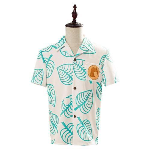 Animal Crossing Tom Nook T-Shirt Hemd Cosplay Kostüm Erwachsene