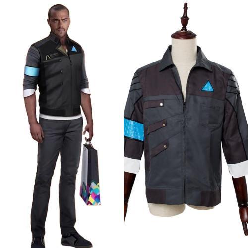 Detroit: Become Human Markus RK200 Jacke Haushälter Android Uniform Cosplay Kostüm