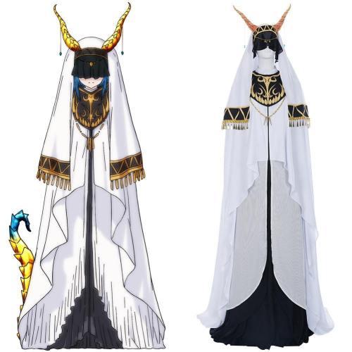 Monster Girl Doctor/Monster Musume no Oishasan Skadi Dragenfelt Cosplay Kleid Halloween Karneval Kostüm
