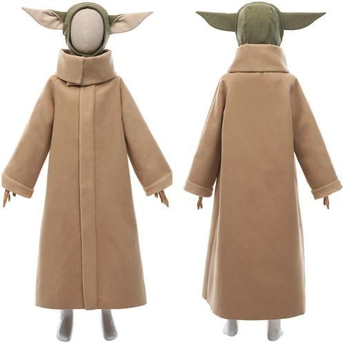 The Mandalorian Staffel 2 Baby Yoda Grogu Cosplay Kostüm Outfit Halloween Karneval Kostüm