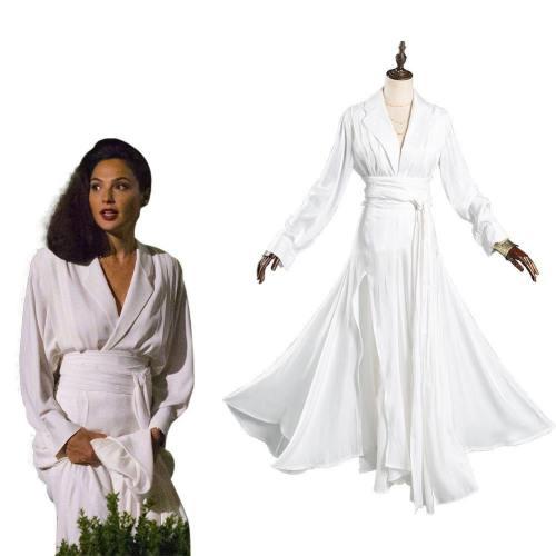 Wonder Woman 1984 Diana Prince Cosplay Kostüm Damen Kleid Halloween Karneval Kostüm
