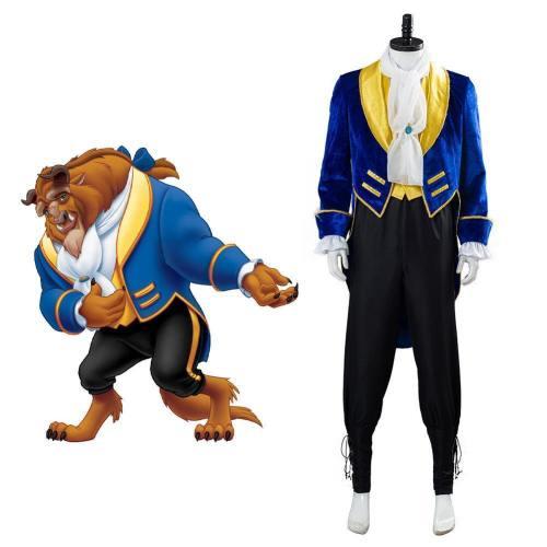 Prinz Beast Kostüm Beauty And The Beast Die Schöne und das Biest Dan Stevens Cosplay Halloween Karneval Kostüm
