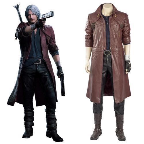 Devil May Cry 5 Devil May Cry V Dante Full Set Cosplay Kostüm