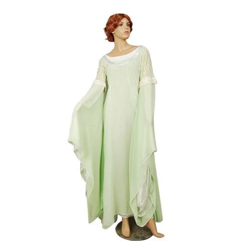 The Lord of the Rings Arwen grün Kleid Abendkleid Cosplay