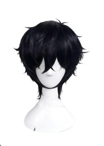 Persona 5 Protagonist Akira Kurusu Joker Perücke Cosplay Perücke