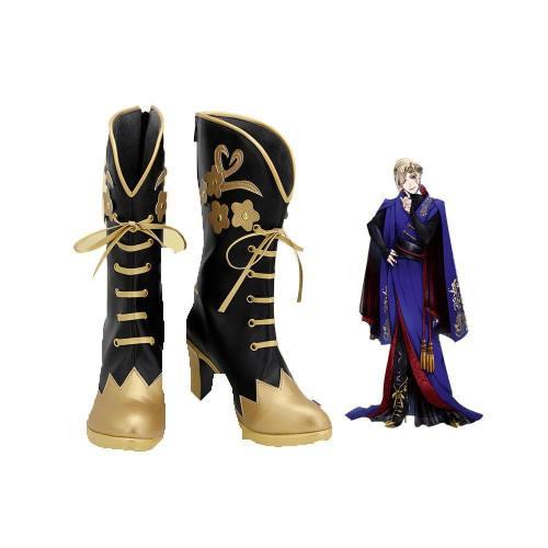 Vil Schönheit Stiefel Twisted Wonderland Schuhe Cosplay Schuhe