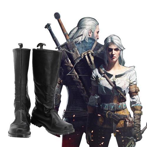 The Witcher Der Hexer Cavill Geralt Geralt von Riva Stiefel Cosplay Schuhe