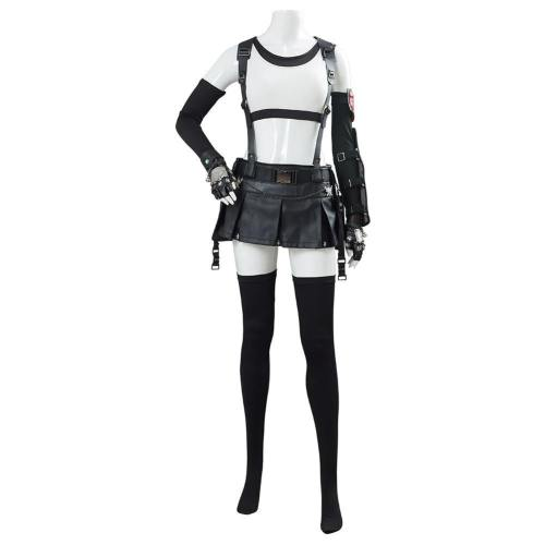 Final Fantasy VII 7 FF7 Remake Tifa Lockhart Kostüm Cosplay Halloween Karneval Kostüm