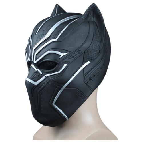 Marvel 2018 Black Panther T'Challa Kopfbedeckung Cosplay Requisite