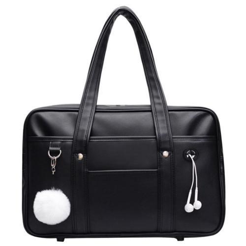 Weibliche Tasche japanische Schultertasche tragbare Uniformtasche College JK Tasche Freizeit Studentententasche Reisetasch, Schuluniformtasche