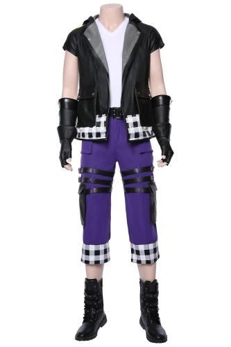 KINGDOM HEARTS III Hearts-Reihe 3 Riku Cosplay Kostüm NEU