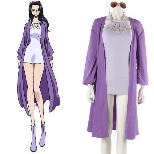 One Piece: Stampede Nico Robin Cosplay Kostüm Lila