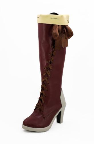 Violet Evergarden Vaioretto Evagaden Violet Stiefel Cosplay Schuhe Stiefel