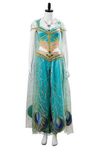 2019 Aladdin Princess Prinzessin Jasmine Cosplay Kostüm