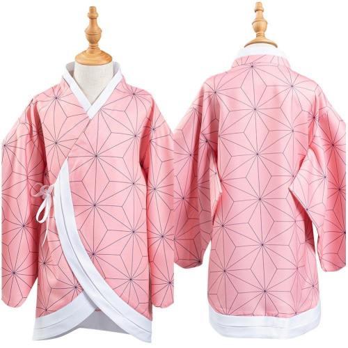 Kinder Kimetsu no Yaiba Demon Slayer Kamado Nezuko Umhang Cosplay Kinder Kimono