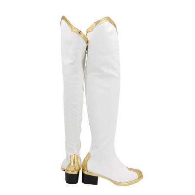 Genshin Impact Amber Stiefel Cosplay Schuhe