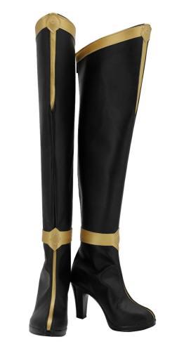 Mortal Kombat Prinzessin Kitana Stiefel Cosplay Schuhe