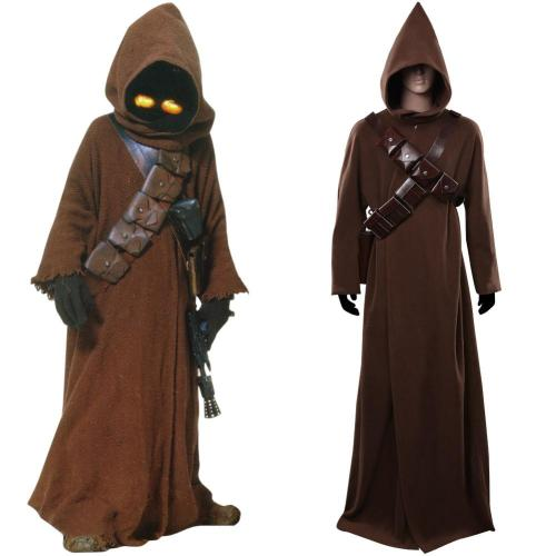 Star Wars Mandalorian Jawas Kostüm Cosplay Halloween Karneval Outfits