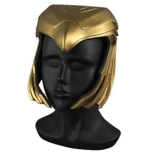 Wonder Woman 1984 Diana Kopfschmuck Cosplay PVC Helm Halloween Party Cosplay Requisite