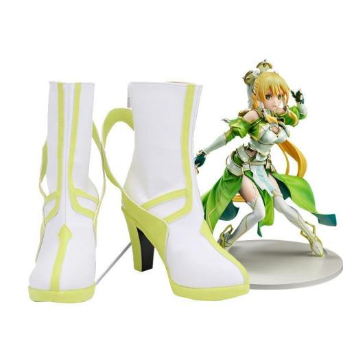 Anime Sword Art Online SAO Leafa Suguha Kirigaya Schuhe Cosplay Schuhe