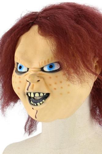 Charles Lee  Chucky  Ray Child's Play Die Mörderpuppe Buddi Cosplay Maske Latex Mottoparty Karnival
