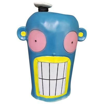 The Umbrella Academy Cha-Cha Kopfbdeckung Cosplay Latex Helm Maske Halloween Party Requisite