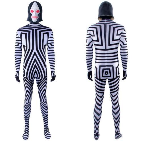 Ultraman X Urutoraman Ekkusu Dada Kostüm Cosplay Jumpsuit