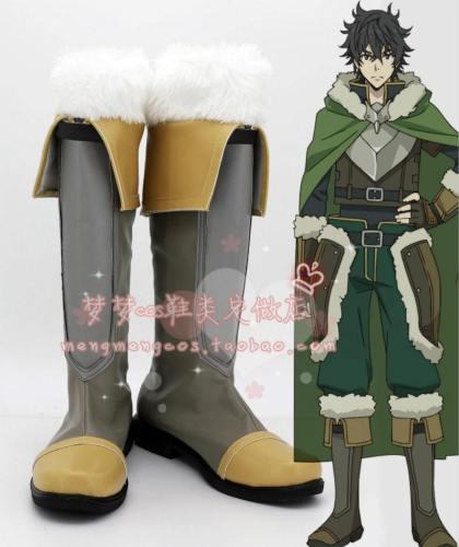 The Rising of the Shield Hero Naofumi Iwatani Schuhe Cosplay Schuhe Stiefel