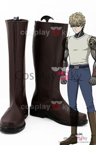 One-Punch Man Demon Cyborg Genos Cosplay Schuhe