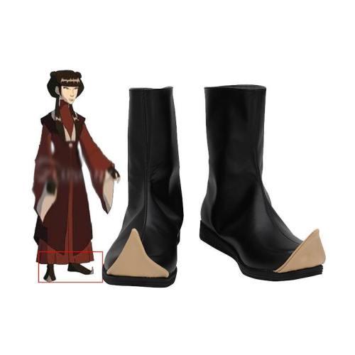 Mai Schuhe The Legend of Korra Avatar Mai Cosplay Schuhe