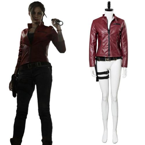 Resident Evil 2 Re Claire Redfield Neu Version Cosplay Kostüm