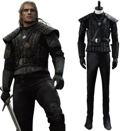 The Witcher Der Hexer Cavill Geralt Geralt von Riva Cosplay Kostüm