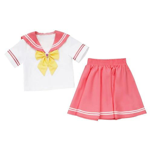 Kinder JK Uniform Sailor Suit Mädchen Matrosenanzug Cosplay Sailor Moon Sailor Mars Kostüm