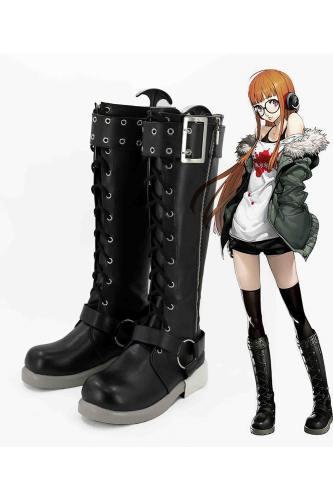 Persona 5 Futaba Sakura Stiefel Cosplay Schuhe