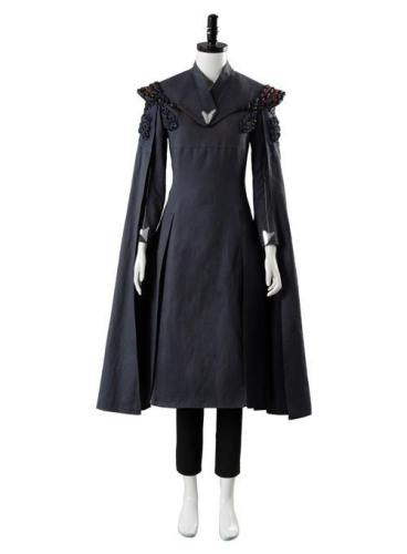 Game of Thrones Staffel 7 S 7 Daenerys Targaryen Kleid Ver. 2 Cosplay Kostüm