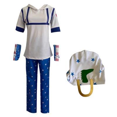 JoJo's Bizarre Adventure Johnny Joestar Outfits Halloween Karneval Cosplay Kostüm