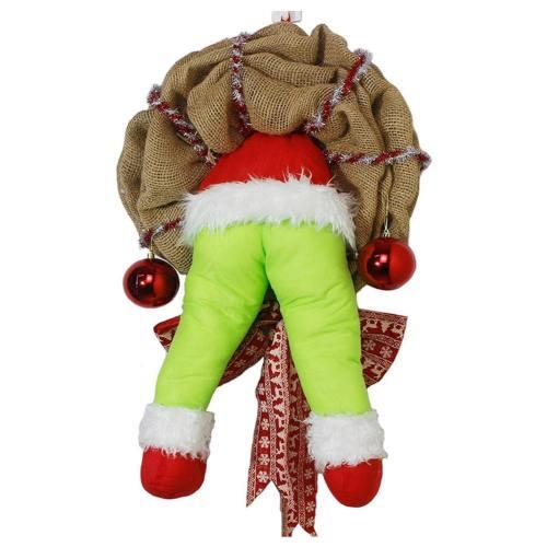 THE GRINCH DER GINCH WEIHNACHTEN DEKORATION AUF TÜR CHRISTMAS DECORATIONS ZUHAUSE DEKORATION GESCHENK