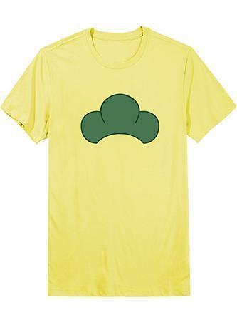 Osomatsu-kun Touximatsu T-shirt Cosplay Kostüm Gelb